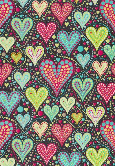 corazones de colores