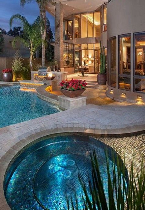 50 best Relaxing And Dreamy Outdoor Hot Tubs images on Pinterest