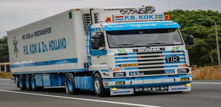 Ets2 Scania 143m P B Kok Trailer Fixed 1 35 X Trucks Trailer Truck And Trailer