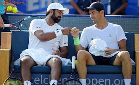 Leander Paes, Andre Sa knock out top seeds from Auckland opener