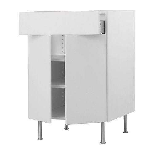 105 akurum base cabinetshelvesdrawer2 doors ikea - Ikea Akurum Kitchen Cabinets