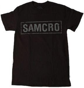 Sons of Anarchy SAMCRO Logo T-Shirt