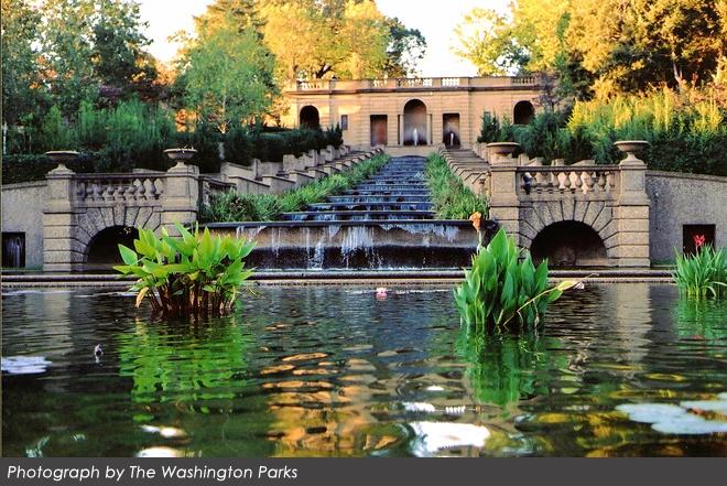 Meridian Hill Park in Washington D.C.