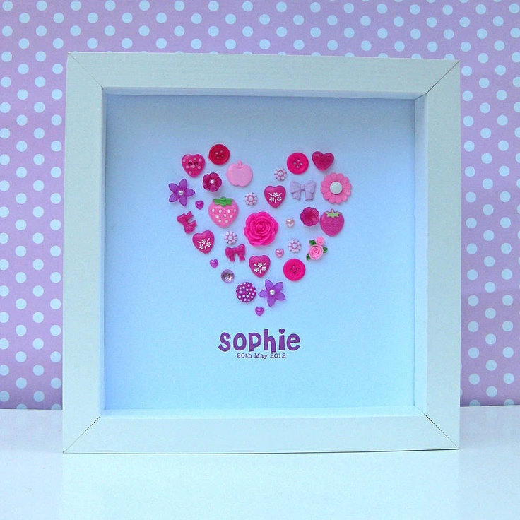 Another easy to make, girly decoration!