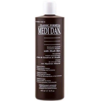Medi Dan Medicated Dandruff Treatment Shampoo 16 oz $8.95   Visit www.BarberSalon.com One stop shopping for Professional Barber Supplies, Salon Supplies, Hair & Wigs, Professional Product. GUARANTEE LOW PRICES!!! #barbersupply #barbersupplies #salonsupply #salonsupplies #beautysupply #beautysupplies #barber #salon #hair #wig #deals #sales #MediDan #Medicated #Dandruff #Treatment #Shampoo