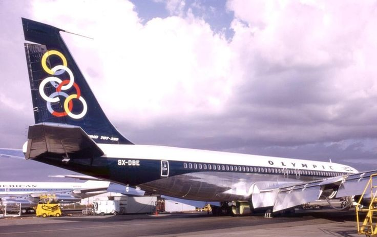 New Olympic Airways B 707-384
