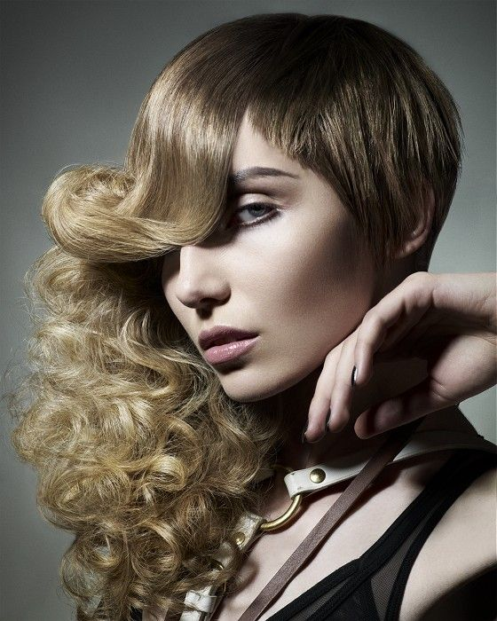 Rush  Magnify  Hair: Rush Artistic Team  Styling: MNK  Make-Up: Adam Burrell  Photography: Ram Shergill