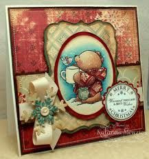 forever friends christmas rubber stamps - Google Search