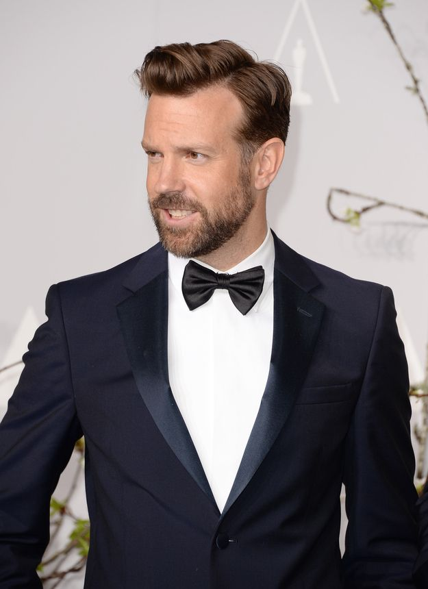 Insatiable thirst for Jason Sudeikis's hair