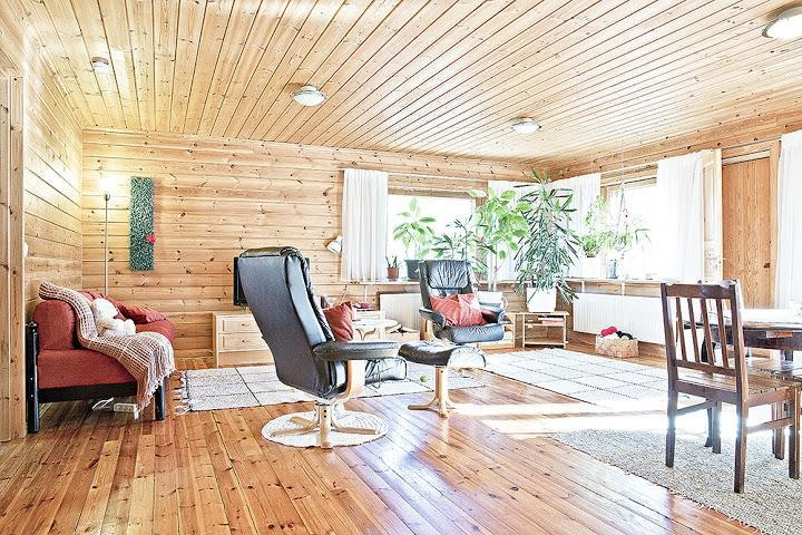 Log house for sale in Mikkeli, Finland