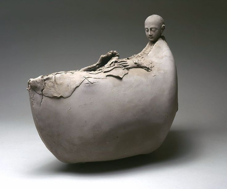 Georges Jeanclos: Barque Saint Julien le Pauvre • Ceramics Now - Contemporary ceramics magazine