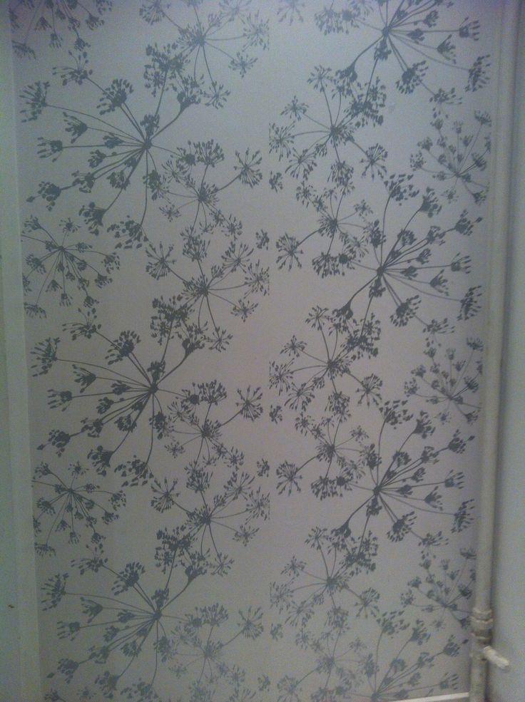 Wallpaper in Copenhagen. I found it in a toilet