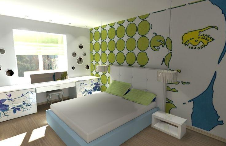 Интерьер в стиле поп-арт. 50 интересных идей - Сундук идей для вашего дома - интерьеры, дома, дизайнерские вещи для дома