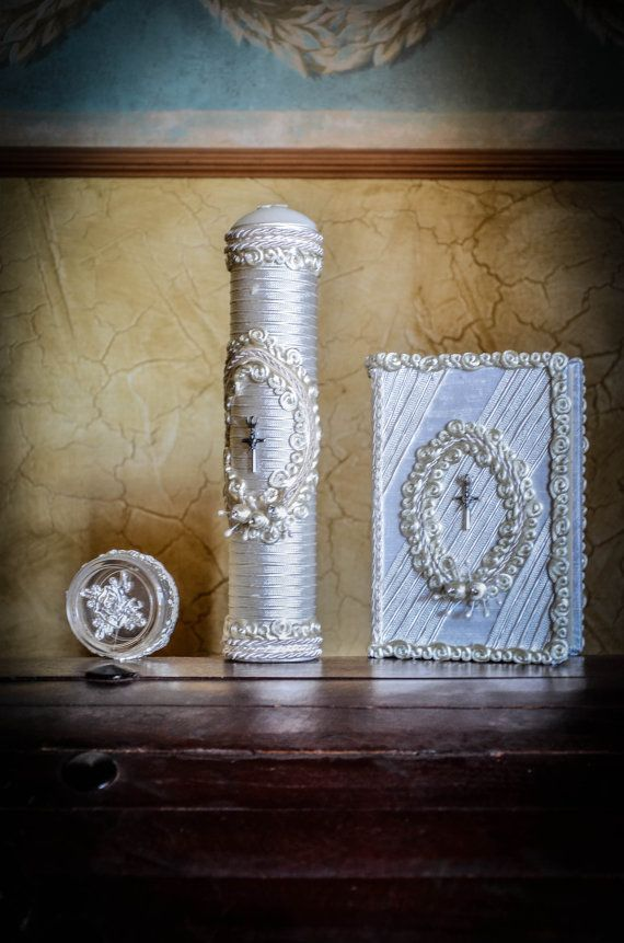 Hey, I found this really awesome Etsy listing at http://www.etsy.com/listing/158550676/first-holy-communion-candless-bible