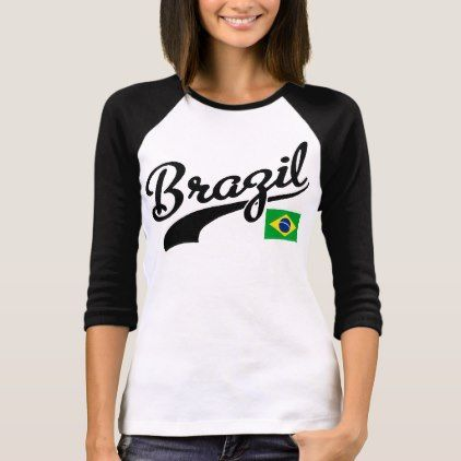 Brazil T-Shirt - #customize create your own personalize diy