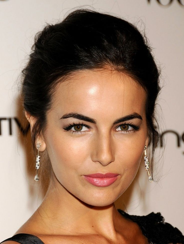 Camilla Belle's perfect eyebrows.