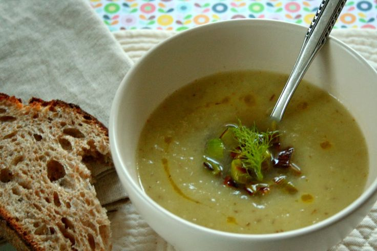 Healthy} Leek, Fennel and Pear Soup | Soup | Pinterest