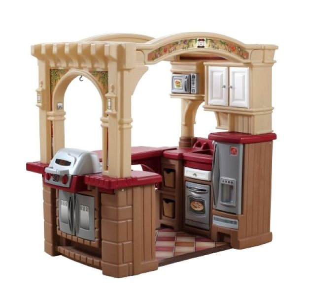 Exceptional Toy Kitchen Sets For Kids Step 2 Kitchens House Toys Walk In Kitchen And  Grill P