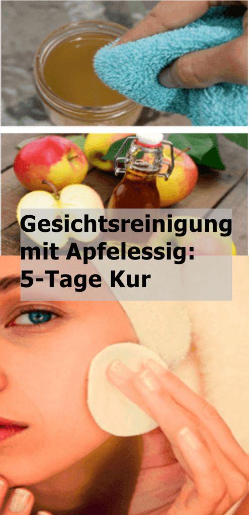 Gesichtsreinigung mit Apfelessig: 5-Tage Kur | njuskam! – Susanne Meißner