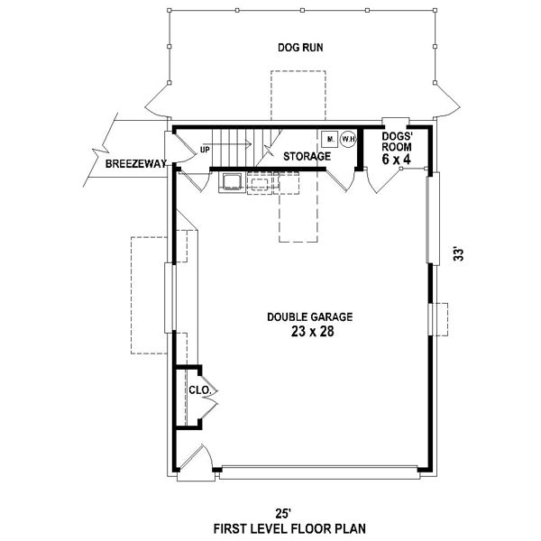 Garage Plan 95826 At Familyhomeplans Com: 1000+ Ideas About Dog Kennel Flooring On Pinterest