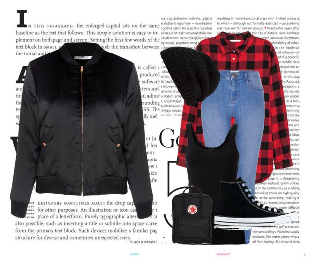 """casual#11"" by tanttu-haapop on Polyvore featuring Oris, Glamorous, H&M, River Island, Theory, Converse, Rick Owens and Fjällräven"