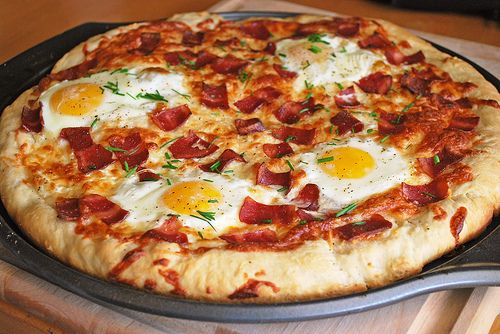 Breakfast Pizza - Fake Ginger