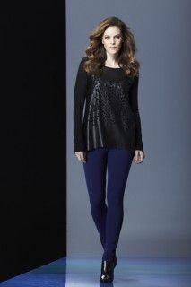 Black top and black blue pant. #avantgarde #tribalsportswear #fall2014 #fallstyle #fallfashion #fashion