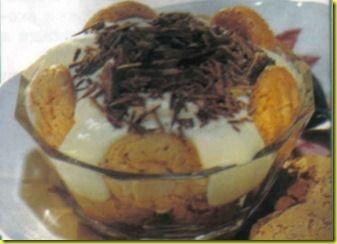 Coppe al mascarpone con cioccolato fondente un dolce molto gustoso e invitante.