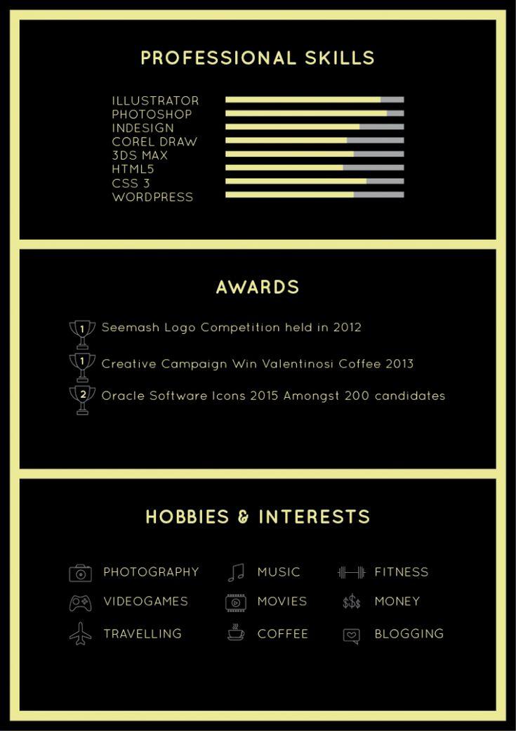 17 best CV Design images on Pinterest Resume, Resume design and - resume design samples