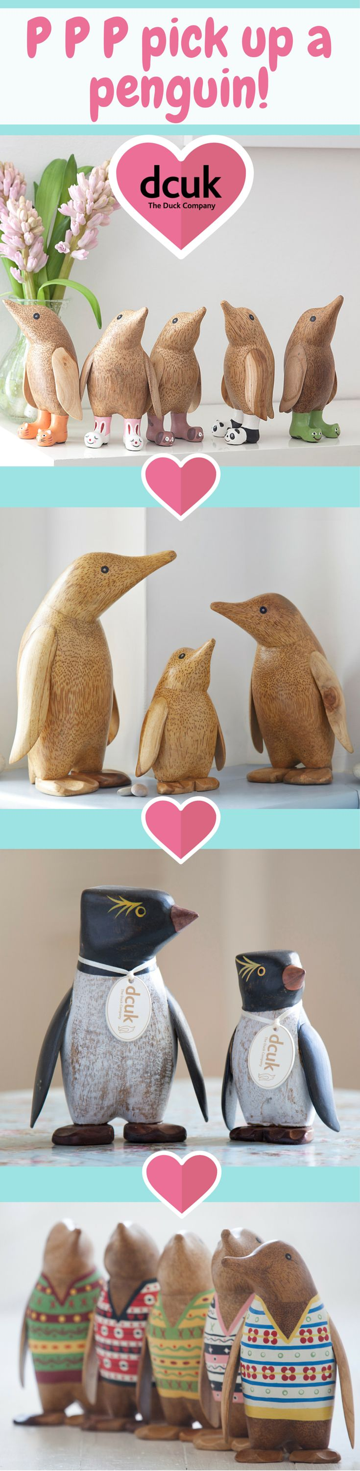 80 best gift ideas for her images on pinterest the duck penguin p p p pick up the perfect penguin gift or home decor accessory from the duck company negle Image collections