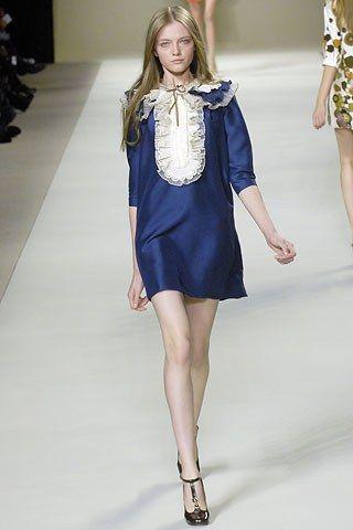 Chloé Spring 2007 Ready-to-Wear Fashion Show - Vlada Roslyakova