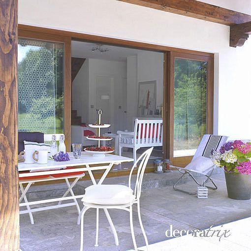 The 25 best decoracion rustica moderna ideas on pinterest - Porches de casas ...