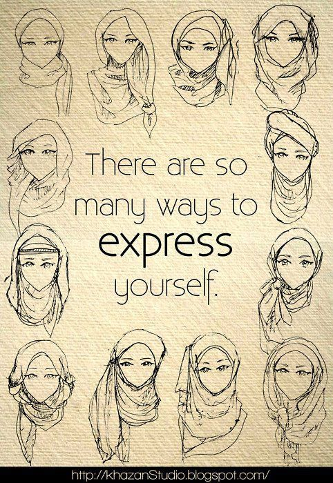 how to do hijab ? Now I would like to a hijab on bad hair days....but I am not muslim so maybe I should get a wig...