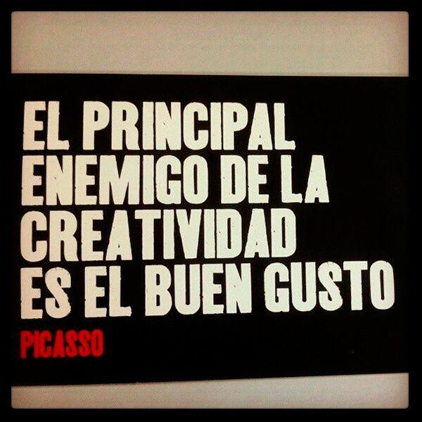 #Picasso #Frases #Creatividad