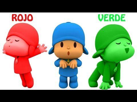 Aprende Los Colores en Español y Animales con Pocoyo  ★ Videos Para Niño...