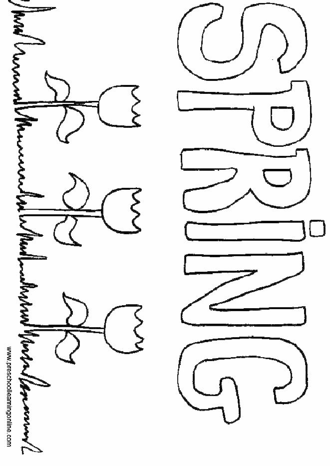 11 best spring images on pinterest coloring pages for kids
