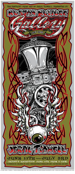 Humantree.com - - The art of Jeral Tidwell   Artwork » Sold Out Posters