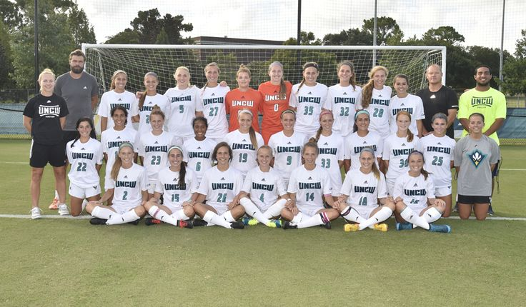 Nikki's collegiate athletic team: UNCW ladies soccer - Go Seahawks!