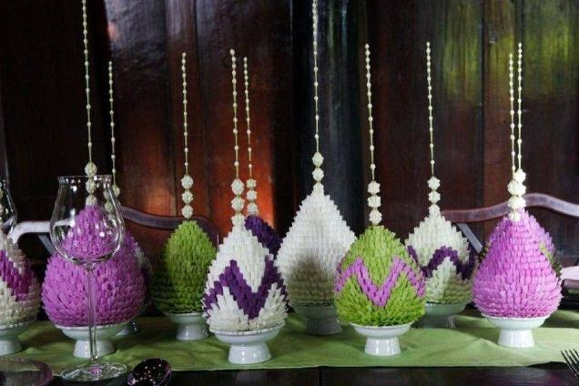 Contemporary Thai Flower Arrangements