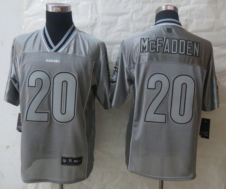 2013 New Nike Oakland Raiders 24 Woodson Grey Vapor Elite Jerseyspx