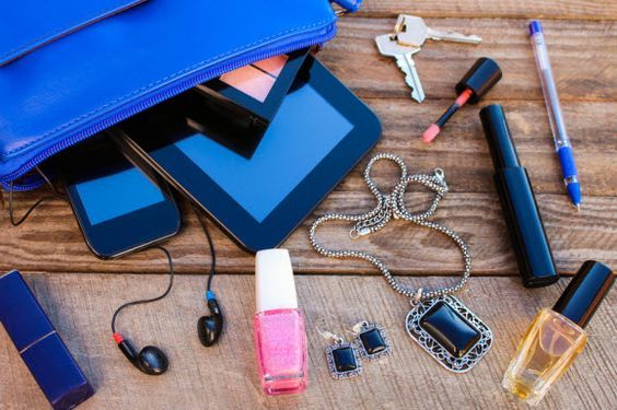 Has a #makeup item ever ruined your favorite #purse? Here's how to #recover without stress. http://www.howtocleanstuff.net/how-to-remove-makeup-stains-from-a-fabric-purse-lining/