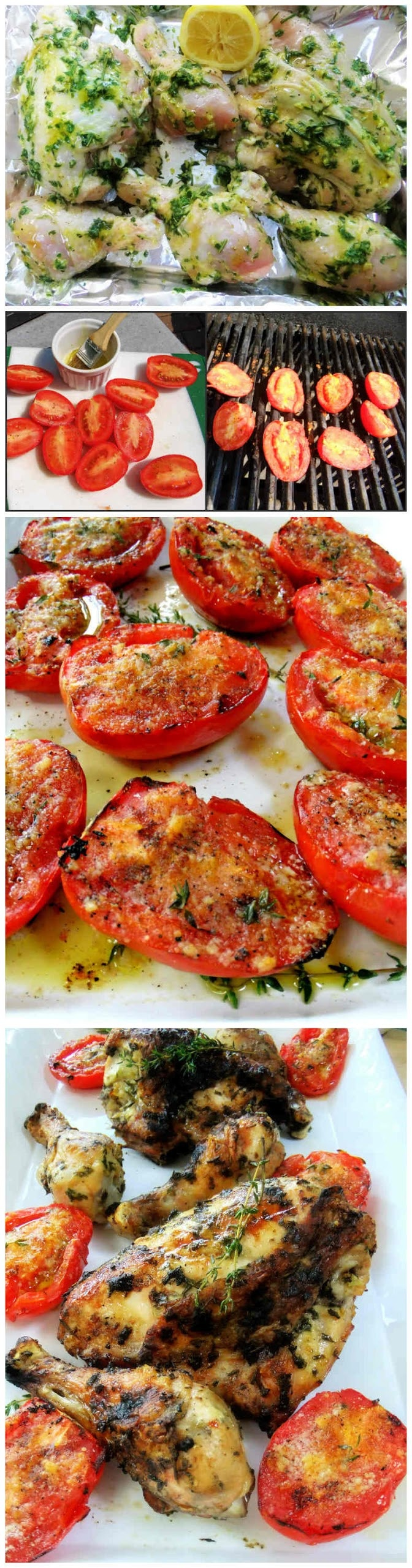 Garlic Grilled Tomatoes Angela and Danny Rossetti  Advocare Independent Distributors #130433273 www.realdealsontheweb.com www.advocare.com/130433273 arossettiadvospark30@gmail.com rossettidanny@gmail.com
