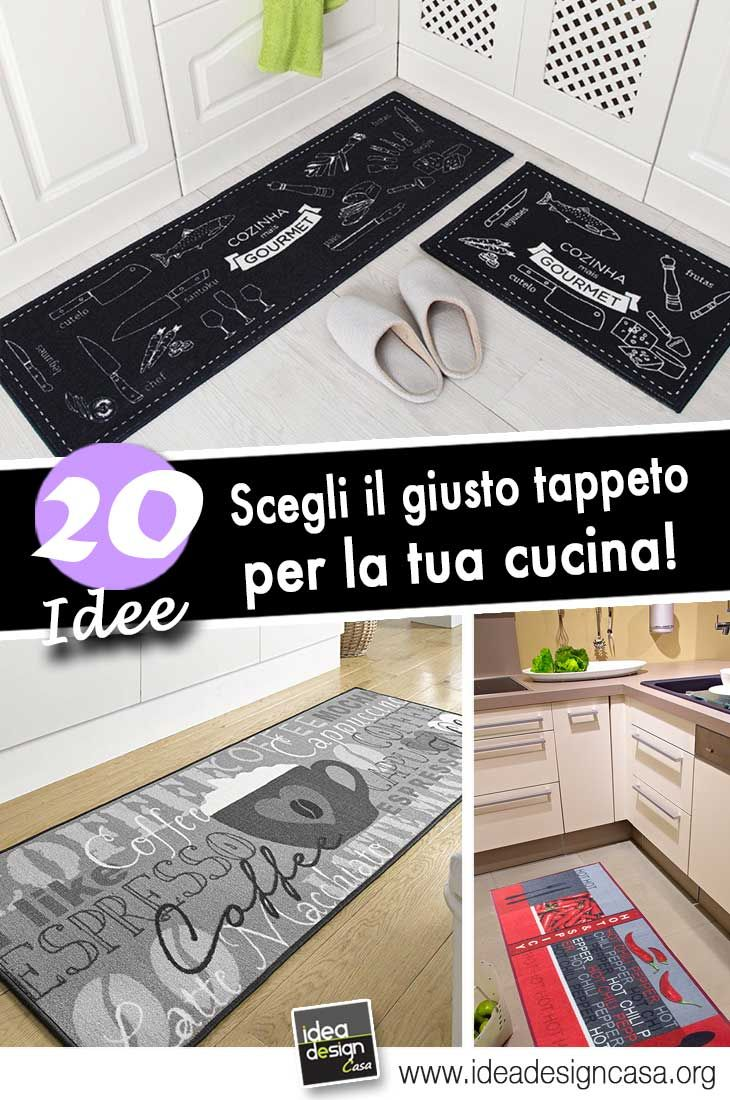 Scegliere il giusto tappeto per la cucina! 20 idee da cui ...