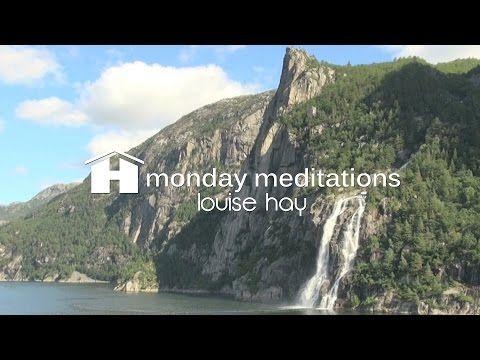 Louise Hay's Morning Meditation - YouTube