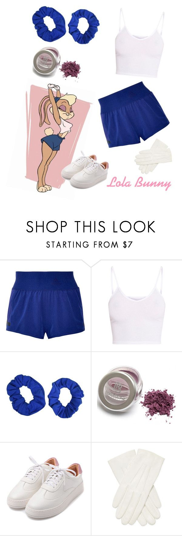 """Lola Bunny"" by volitairia ❤ liked on Polyvore featuring adidas, BasicGrey and Valentino"
