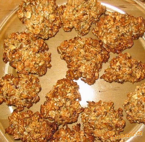 Strááášně zdravé a ještě k tomu dobré sušenky