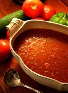Healthy Recipe: Gaspacho Soup
