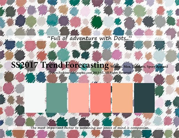 SS2017 Trend Forecasting for Women, Men, Intimate, Sports Apparel - Full of…
