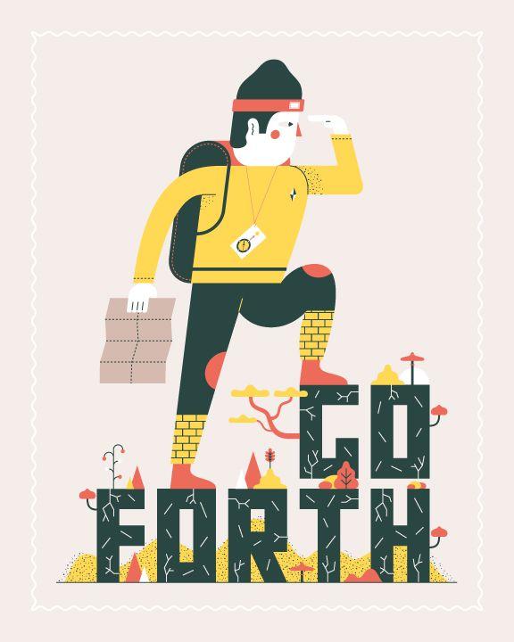 Go Forth, Travel Inspiration Collaboration | Global Yodel