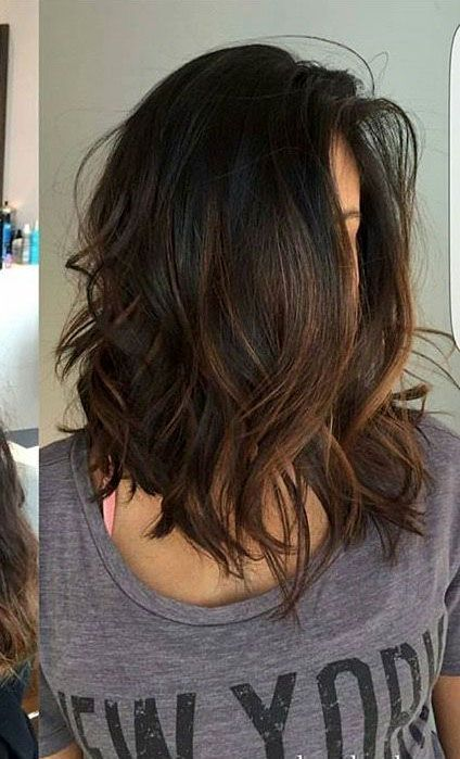 40+ Trendy Brown Hair Color Ideas You Can Try brown hair colors, brown hair with caramel highlights, ashy brown hair, chocolate brown hair